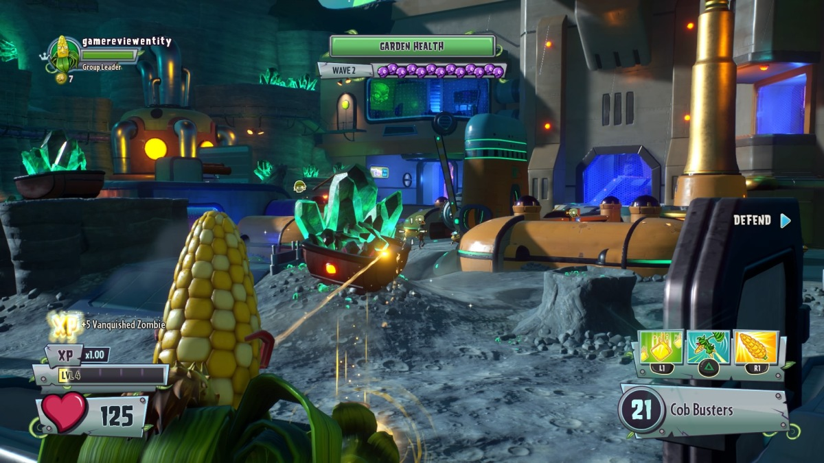 Plants Vs Zombies Garden Warfare 2 Ps4 Review 39 Em All